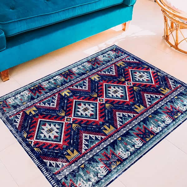 Oriental vinyl carpet